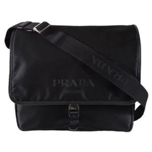 NWT Prada Men's Nylon Tracolla 2VD166 Mesenger Bag